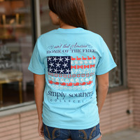 Simply Southern America Tee