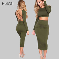 Fashion Winter 2 Piece Set Women Sexy Bodycon Dress Plus Size Robe Midi Night Club Wear Party Maxi Dress