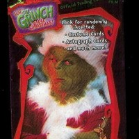 How The Grinch Stole Christmas Official Trading Card Pack - 10 cards per pack - Look for randomly inserted costume cards, autograph cards and much more!