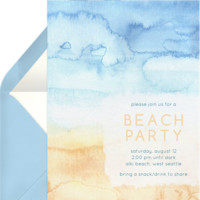Beachy Tones Invitations | Greenvelope.com