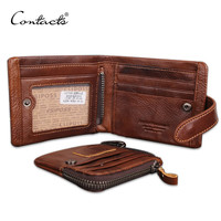 Hot! Classical European and American Style Men Wallets Genuine Leather