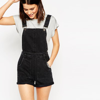Denim Jumpsuit with Adjustable Straps
