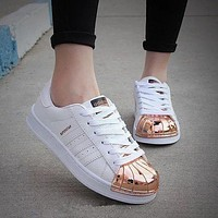 Adidas Shell-toe Flats Sneakers Sport Shoes