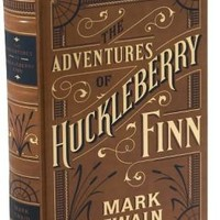 The Adventures of Huckleberry Finn (Barnes & Noble Leatherbound Classics Series)
