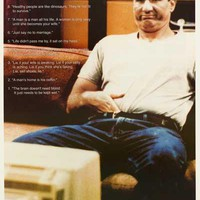 Married with Children Al Bundy Quotes Poster 24x36