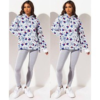 Champion Women Fashion Hooded Top Pullover Sweater Sweatshirt Hoodie