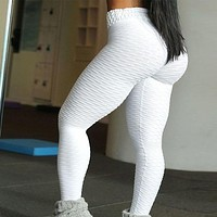 Popular Style ABS Sexy Push up Leggings Gym Fitness Workout Running Tights High waist Legging
