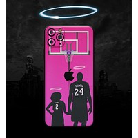 MAMBA // Pink - Non-Profit Memorial Skin-Kit compatible with the Apple iPhone 12, 12 Pro Max, 12 Mini, 11 Pro or 11 Pro Max (All iPhones Available) (All iPhone versions available)