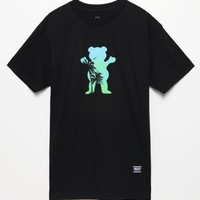 Grizzly Palm OG Bear T-Shirt - Mens Tee - Black