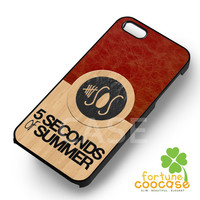 5 seconds of summer 5sos wooden leather band -end for iPhone 4/4S/5/5S/5C/6/6+,samsung S3/S4/S5/S6 Regular/S6 Edge,samsung note 3/4