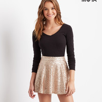 Aeropostale  Sparkle Sequin Skirt
