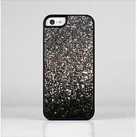 The Black Unfocused Sparkle Skin-Sert for the Apple iPhone 5c Skin-Sert Case