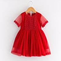 baby girl clothing kid clothes Lace princess dress Formal dress Toddler Girl Clothing Children Clothes