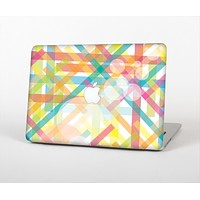 """The Colorful Abstract Plaid Intersect Skin for the Apple MacBook Air 13"""""""