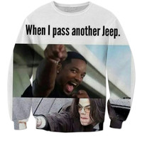 Jeep waves all day