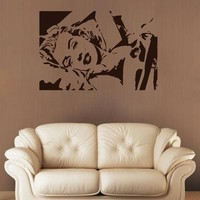ik1941 Wall Decal Marilyn Monroe actress famous American living room bedroom