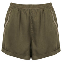Khaki Utility Shorts - New In This Week - New In - Topshop USA