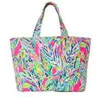 Beach Tote Bag - Palm Reader - Lilly Pulitzer