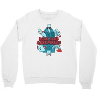 by the power of literature Crewneck Sweatshirt