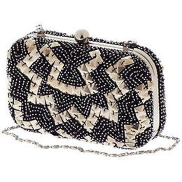 Juicy Couture Minaudiere Beaded Clutch   Piperlime