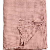 H&M Crinkled Cotton Throw $49.99