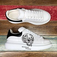 Alexander McQueen Classic white shoes-2