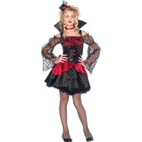 Teen Girls Victorian Vampire Costume