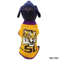 LSU Tigers Athletic Mesh Pet Jersey