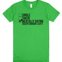 Mentally Dating Joseph Gordon-Levitt-Female Grass T-Shirt