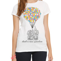 Disney Up Start A New Adventure Girls T-Shirt