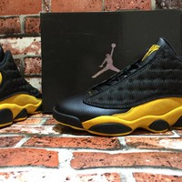 Air Jordan 13 Retro AJ13 Melo PE Black/Yellow US 7-13