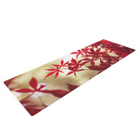 "Ann Barnes ""September Afternoon"" Red Leaves Yoga Mat"
