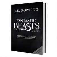 Fantastic Beasts and Where to Find Them Hardcover Screenplay |