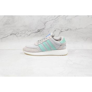 Adidas I-5923 Grey Mint White W D97349 Sneakers