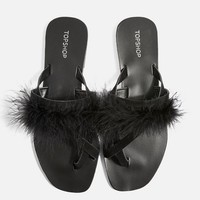 Holly Fluff Sandals - Shop All Shoes - Shoes