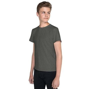 Youth Chainmail Pattern T-Shirt