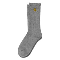Chase Socks in Grey Heather