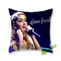 Ariana Grande Live Concert Square Pillow Cover