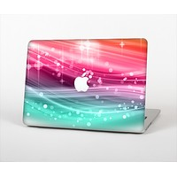 """The Vibrant Multicolored Abstract Swirls Skin Set for the Apple MacBook Air 11"""""""