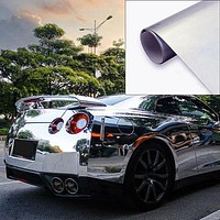 Useful Car Accessories Self-Adhesive Vinyl Film Sheet Exterior Wrap Sticker Decal