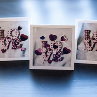 3 Love Cards, Valentine Card, Valentines Gift, Love Gift, Love Note, For Him, For Her, Valentine Greeting Cards, Blank Notecard Set