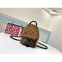 LV Louis Vuitton MONOGRAM CANVAS SMALL BACKPACK BAG