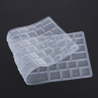 New EU/UK Silicon Keyboard Cover Skin Protector for Apple For Macbook Pro 13 15 17 Air 13