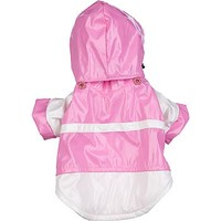 Pet Life Two-Tone PVC Raincoat for Dogs