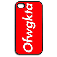 iPhone 4/4s Case  Odd Future Wolf Gang Kills Them All by 10Four