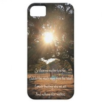 And Nothing Else Matters; Sunset through trees from Zazzle.com