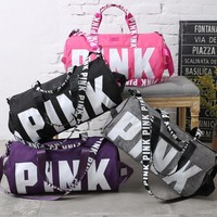 Victoria's secret Pink Sports and fitness yoga with short travel bag Tagre™