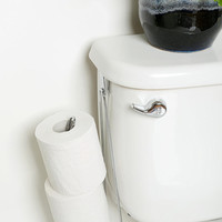 Double Over-The-Tank Toilet Paper Holder