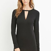 Contemporary Cutout Bodycon Dress