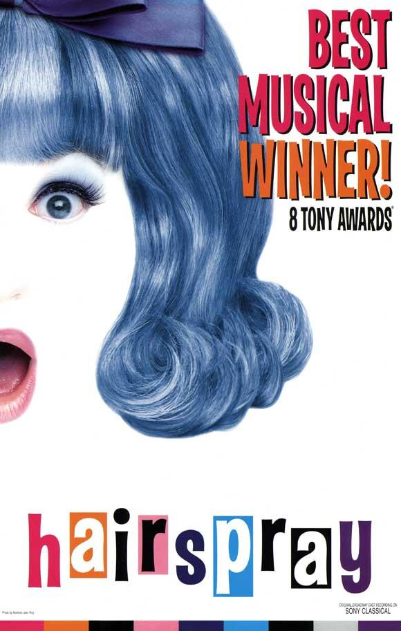 Image of Hairspray 11x17 Broadway Show Poster